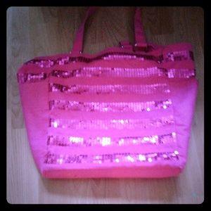 VS Summer Time Sequin Tote Bag
